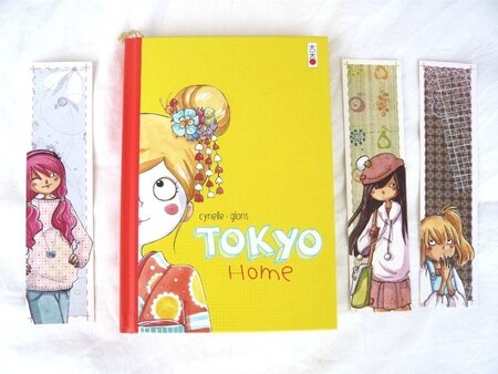 Tokyo Home BD Cyrielle marque page