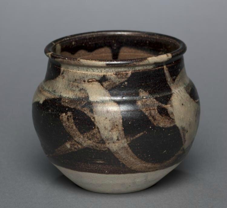 Jar, Jizhou Ware, 1200s-1300s, China, Jiangxi province, Ji-zhou kilns, Southern Song Dynasty (1127-1279) - Yuan Dynasty (1271-1368)