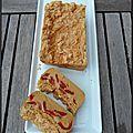 Cake magique poivron tandoori