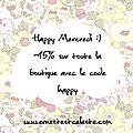 ★ happy mercredi