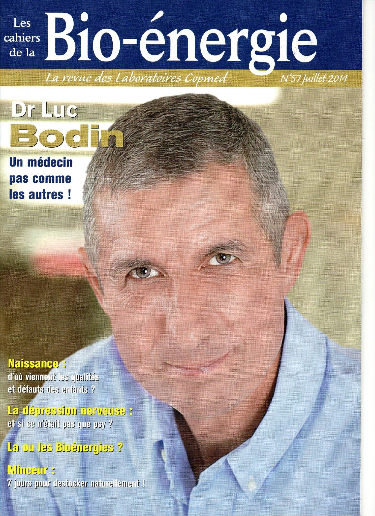 Cahier de la Bio énergie n°57