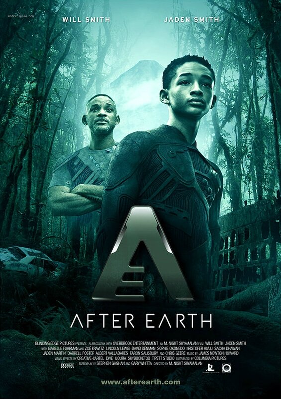 Affiche de AFTER EARTH