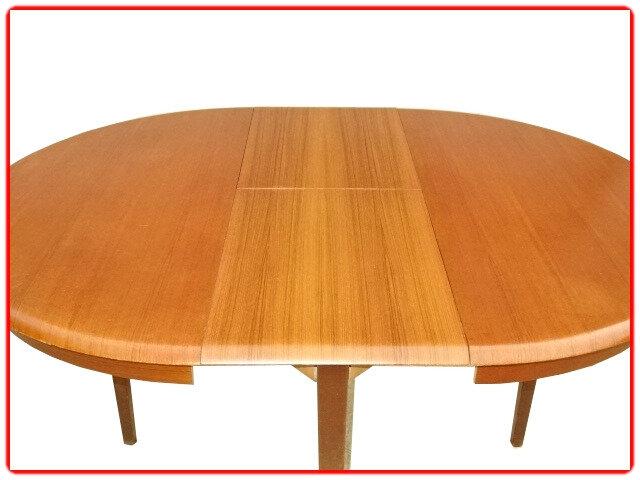 table à repas vintage scandinave teck