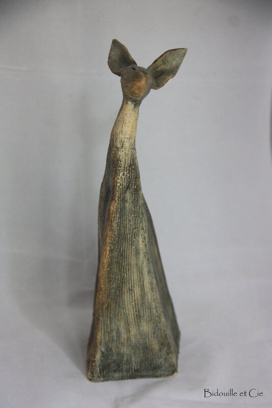 lapin gris taupe