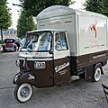 PIAGGIO Ape Classic triporteur marchand de glaces Schwetzingen (1)