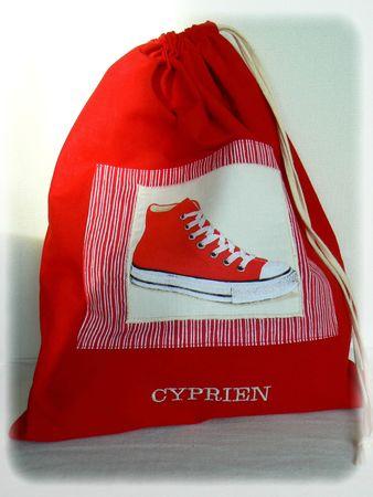 sac chaussure cyprien