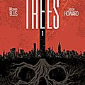 Image comics : trees by warren ellis