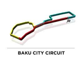 BAKU F1 2019 BAKU CITY TRACK