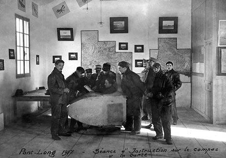 Pau, école d'aviation, pdt guerre (2)