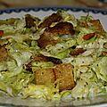 Caesar salade vegan