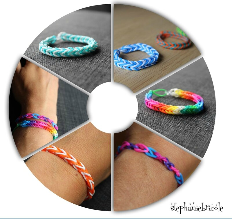 BRACELET ELASTIQUE FACILE COMMENT FAIRE