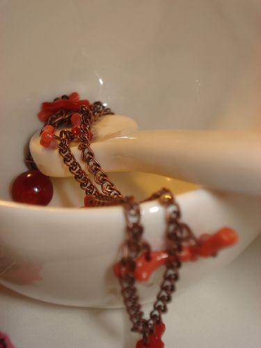 Bijoux Noel bracelet corail