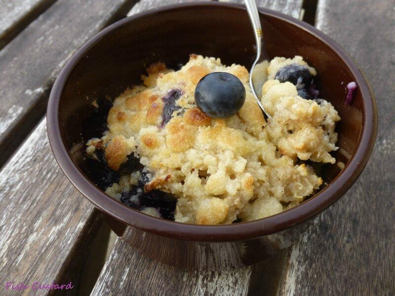 Porridge crumble aux myrtilles (29)