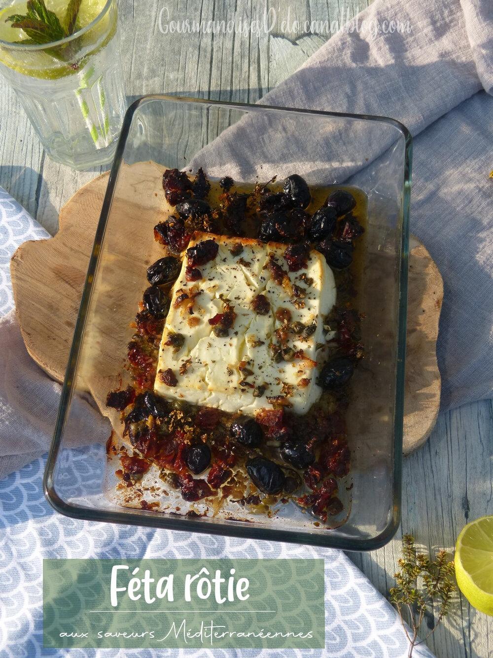 Feta rôtie aux saveurs méditerranéennes