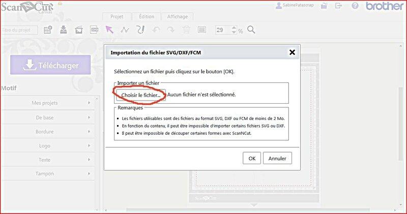 tutoriel texte ScanNCut 07