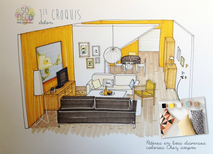 jaune moutarde tous les messages sur jaune moutarde coach deco lille. Black Bedroom Furniture Sets. Home Design Ideas