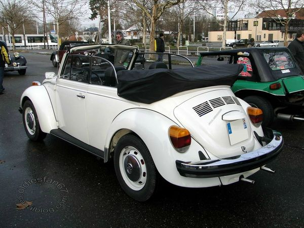 Volkswagen Super Beetle convertible version US 1974 1980 b