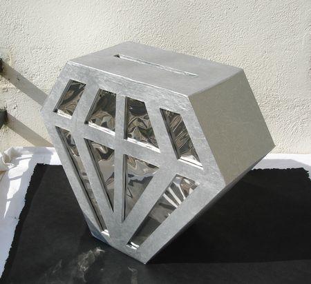 urne diamant finalisee vue du dessus