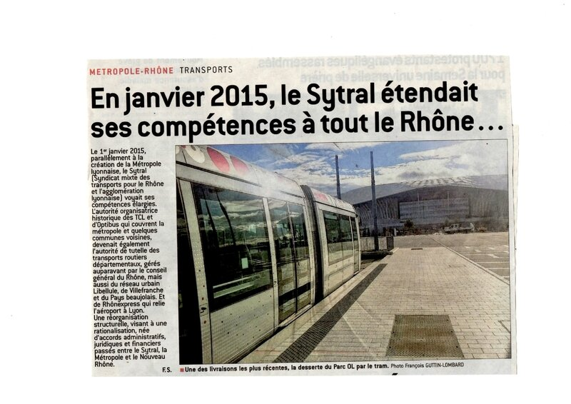 article Progrès 26 janv 2016 Sytral 1