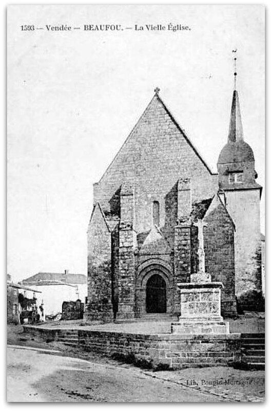 Beaufou église z