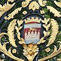 Blason de bordeaux-Grille jardin public/septembre 2012