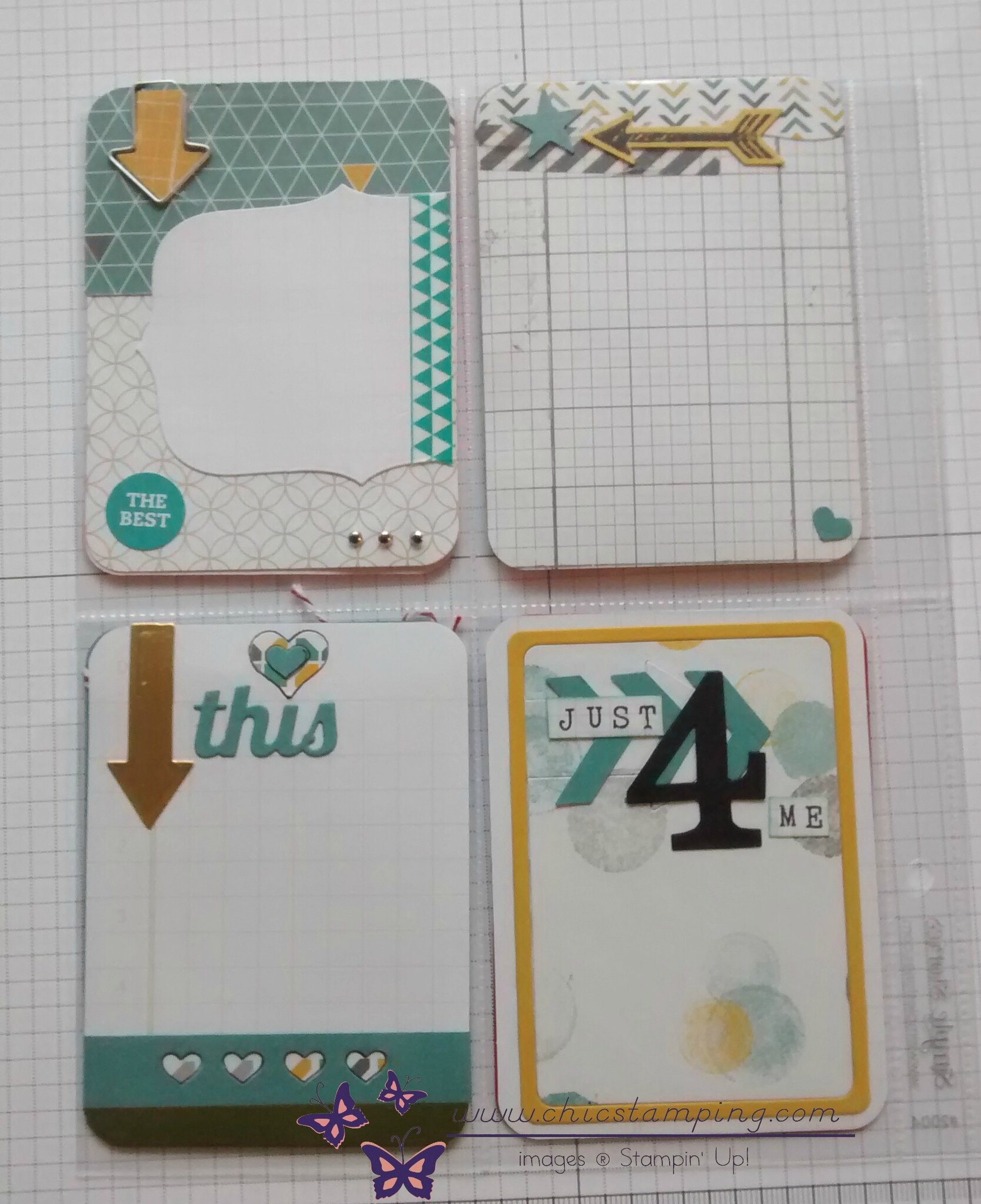 DIY - project life cards - serie arrows