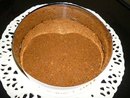Cheese cake chocolat anniv Sarha 20