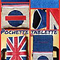 British tablet case