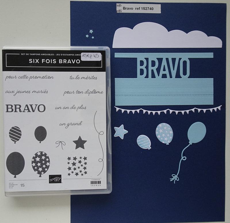 Lot Six fois Bravo b