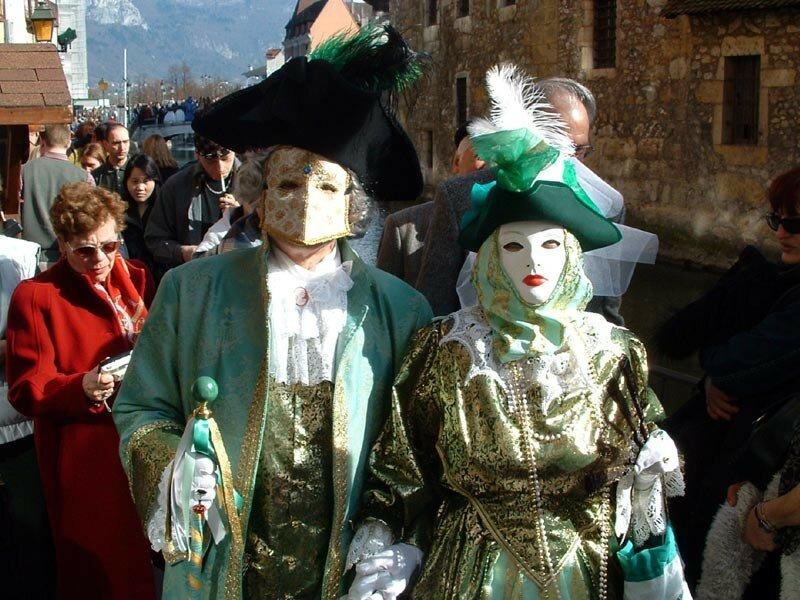 Carnaval Vénitien d'Annecy organisé par ARIA Association Rencontres Italie-Annecy (45)
