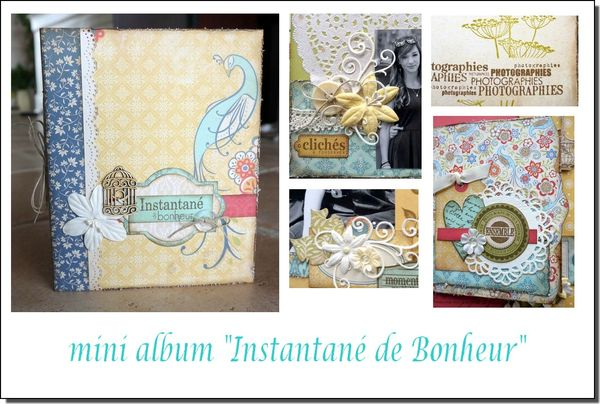 visuel mini album Instantané de Bonheur