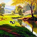 vache paysage campagne75_n