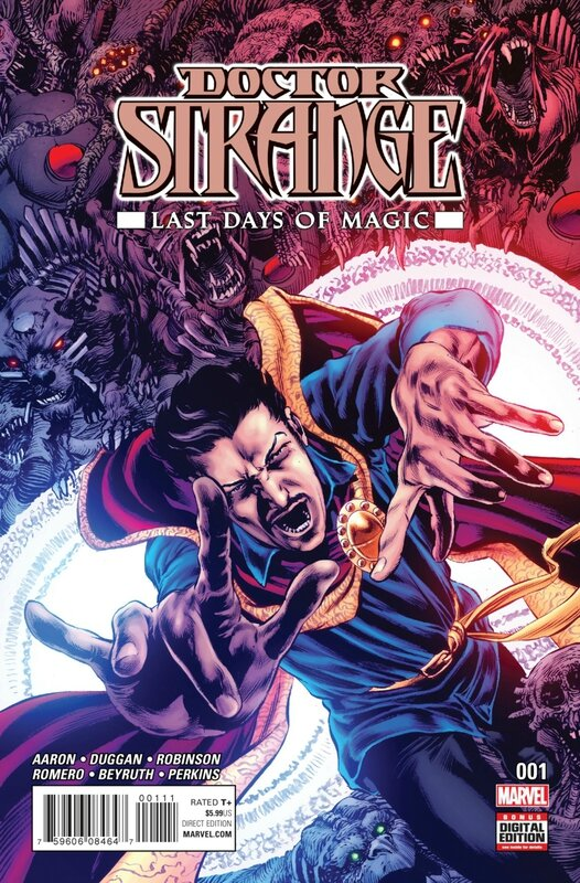 doctor strange last days of magic
