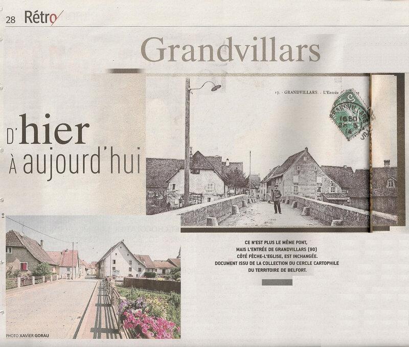2018 10 21 Hier Aujourd hui Grandvillars Le Mag ER