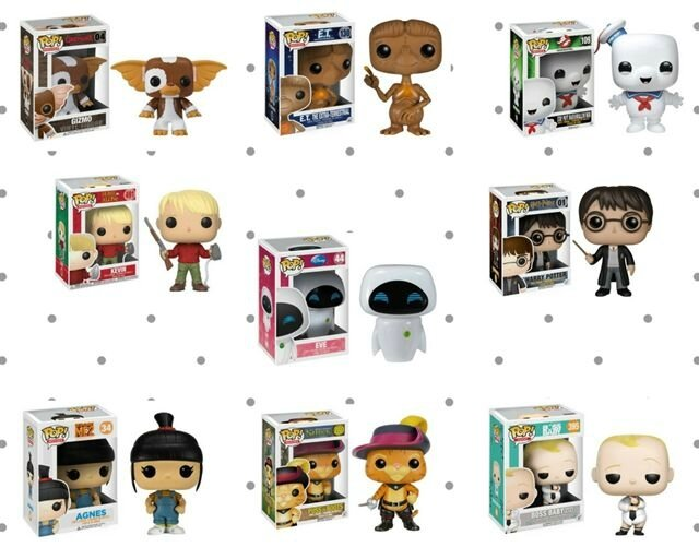 Wish list Funko Pop ©Kid Friendly