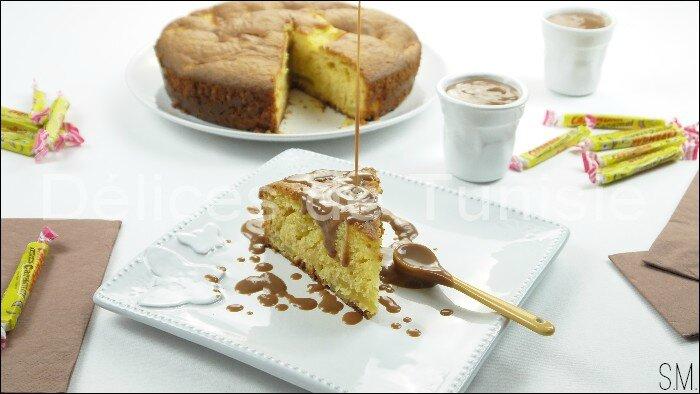 Gâteau aux Pommes et sa Sauce Carambars 1