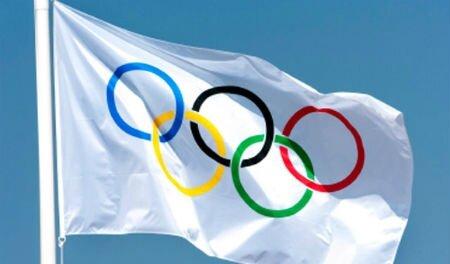 Jeux Olympiques - drapeau
