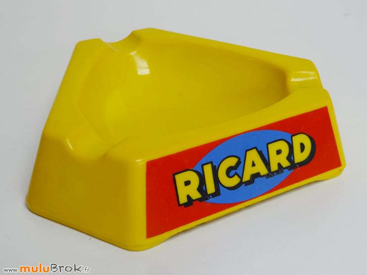 RICARD-Cendrier-jaune-1-muluBrok-Objet-pub