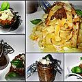Pâtes au pesto de provence et au curcuma - parmesan