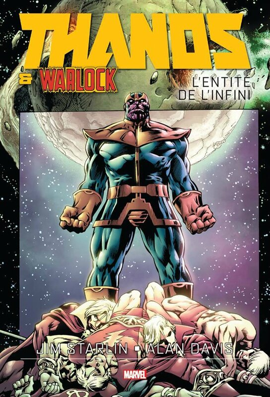 graphic novel thanos & warlock l'entité de l'infini