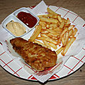 Fish and chips (le poisson-frites)