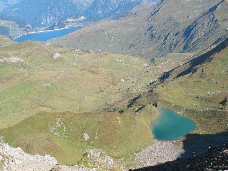 Barrage de Roselend et Lac d'Amour