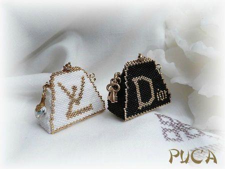 sac LV et Dior