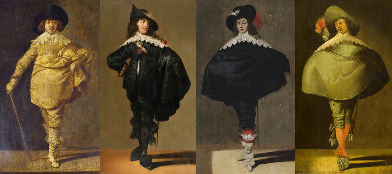 Portraits hollandais, 1635-1640