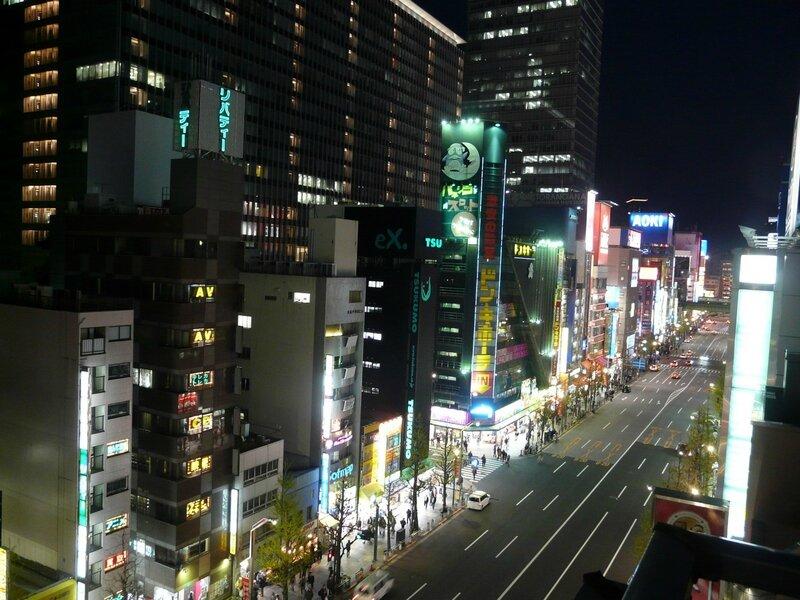 Canalblog Tokyo Akihabara Escaliers23 Nuit Haut
