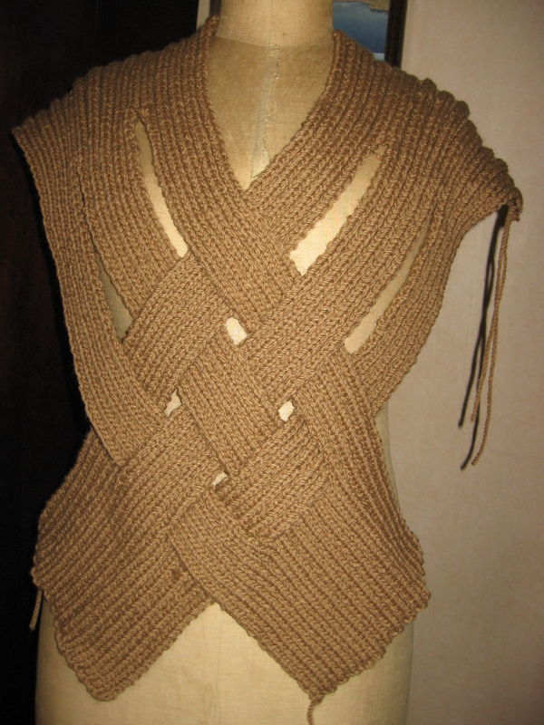 Mongolian Warrior Pullover from Nicky Epstein