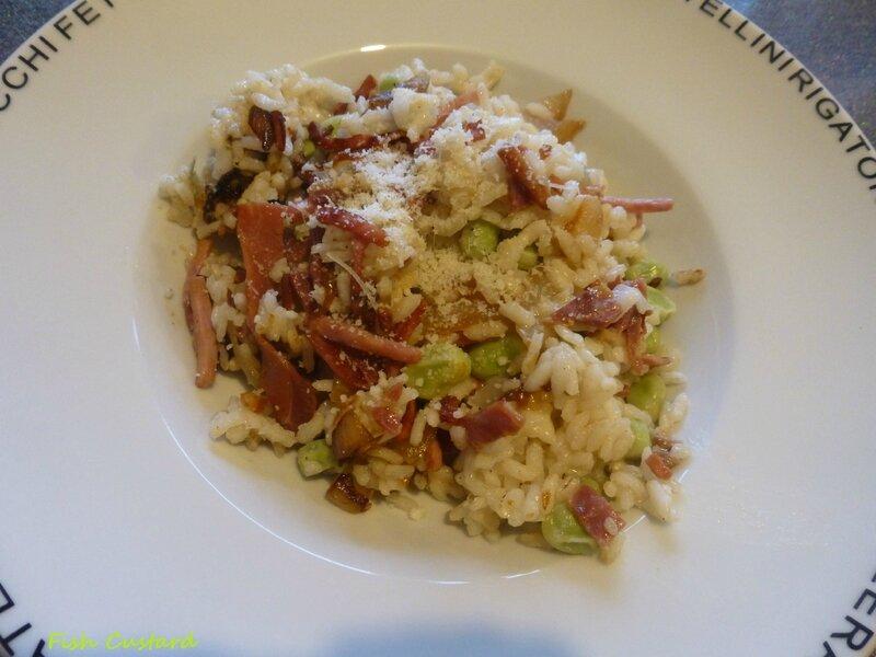 Risotto fèves et pancetta (13)