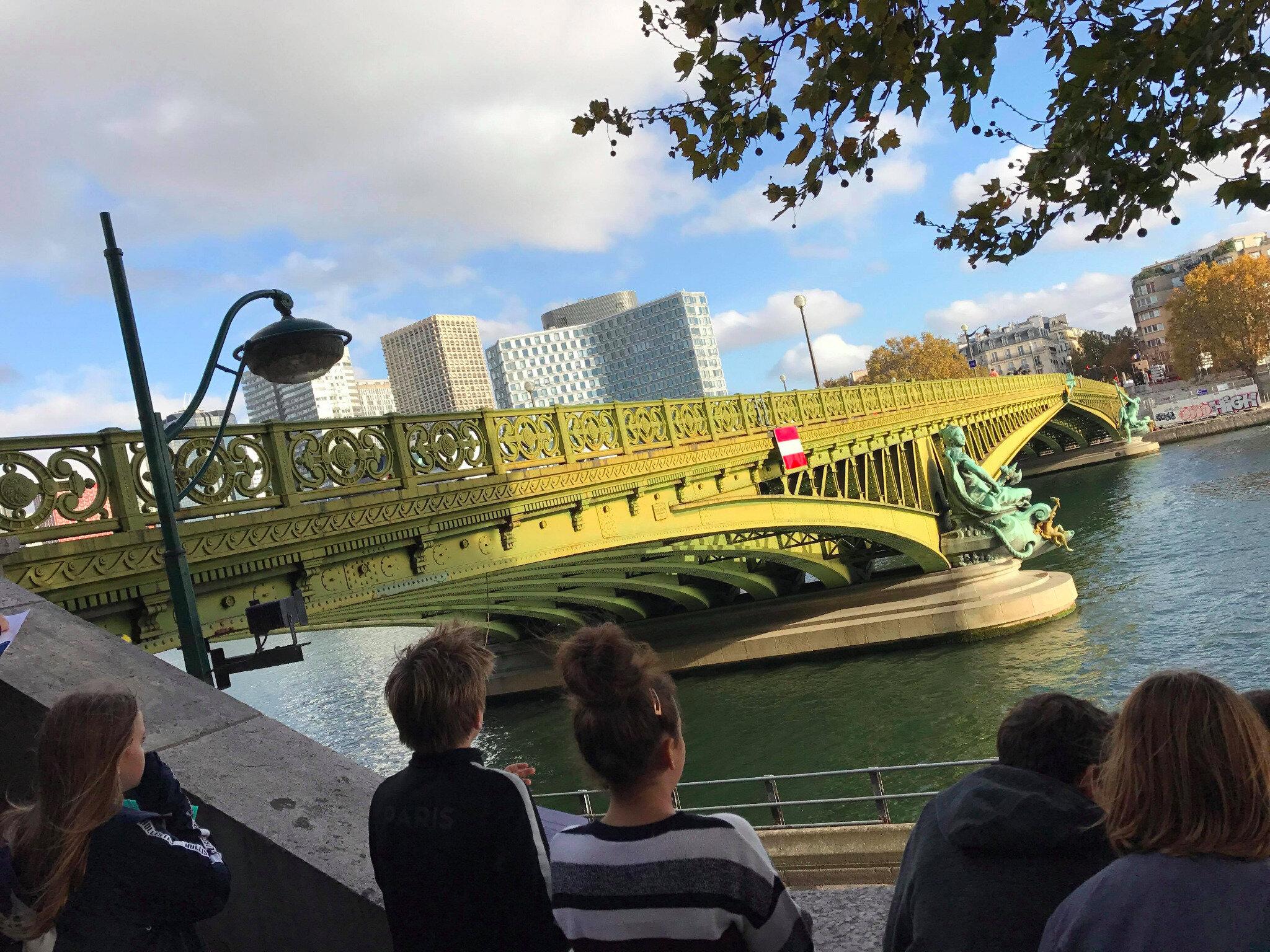 Le Pont Mirabeau, centenaire Apollinaire, tous ponts et poèmes ! Mardi 20 novembre 2018 : Balandier pour parler d'Apo !