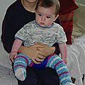 jambière bébé - babyleg au crochet