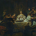 'rembrandt's orient: west meets east in dutch art of the seventeenth century' at the museum barberini, potsdam, germany